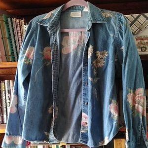 Wildflower Jean Jacket